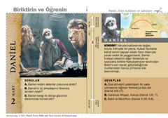 Daniel Kutsal Kitap Kartı