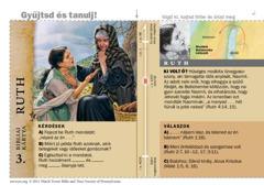 Bibliai kártya: Ruth