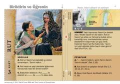 Rut Kutsal Kitap Kartı