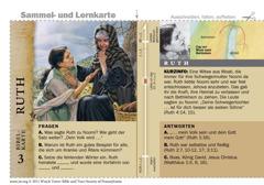 Bibelkarte Ruth