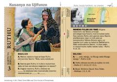 Karte ya Biblia ya Rutu
