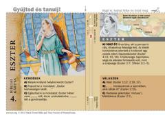 Bibliai kártya: Eszter