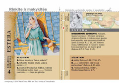 Biblijos kortelė: Estera