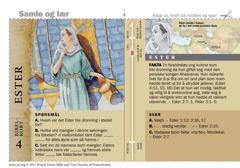 Bibelkort om Ester
