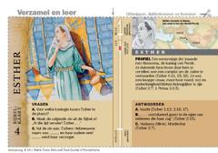Bijbelkaart over Esther
