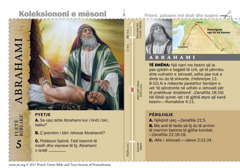 Fletë biblike për Abrahamin