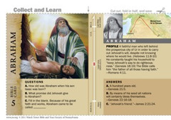Abraham Bible Card