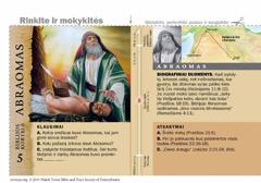 Biblijos kortelė: Abraomas