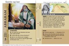 Bibelkort om Abraham