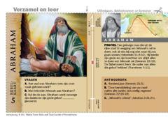 Bijbelkaart over Abraham