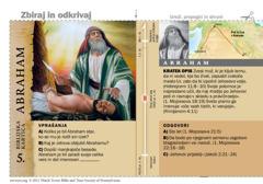 Biblijska kartica o Abrahamu