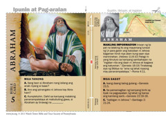 Bible card ni Abraham