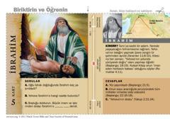 İbrahim Kutsal Kitap Kartı
