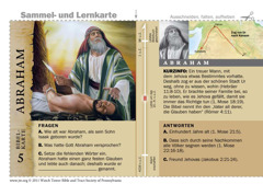 Bibelkarte Abraham