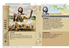 Fletë biblike për Abelin