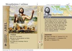Biblijska kartica: Abel