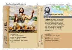 Abel Bible Card