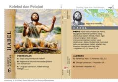 Kartu Alkitab Habel