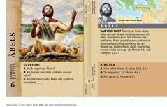 Bībeles kartīte: Ābels