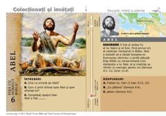 Fișă cu subiect biblic: Abel