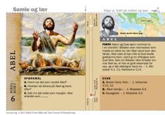 Bibelkort om Abel