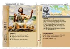 Bijbelkaart over Abel