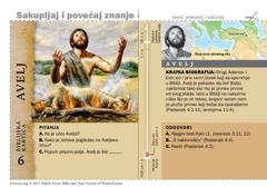 Biblijska kartica: Avelj