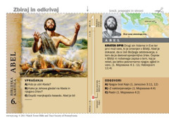 Biblijska kartica o Abelu