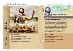 Bible card ni Abel
