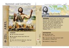 Bibelkarte Abel