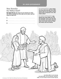 Jesus ọnọ ata ediwak owo udia