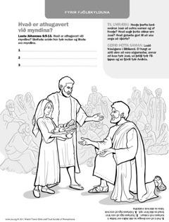 Jesús mettar mikinn mannfjölda