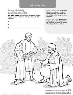 Chúa Giê-su cung cấp thức ăn cho một đám đông
