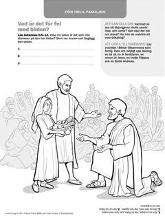 Jesus ger mat åt många människor