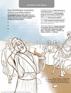 Hamanas, tarnai ir Mordechajas