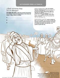 Hamán, servidores y Mardoqueo