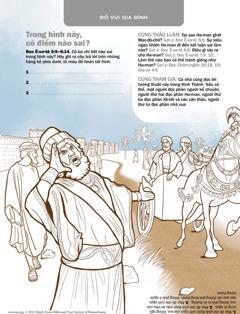 Haman, những người tham dự, và Mạc-đô-chê