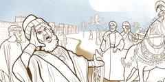 Hamani, anthu otumikira ndiponso Moredekai