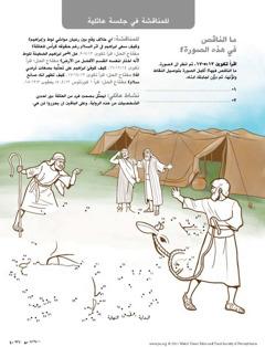 ابراهيم يسعى الى مسالمة لوط