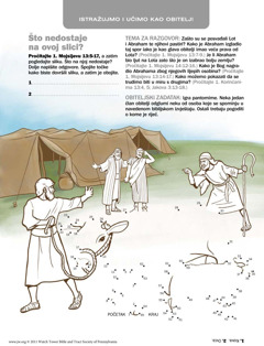 Abraham se pomirio s Lotom