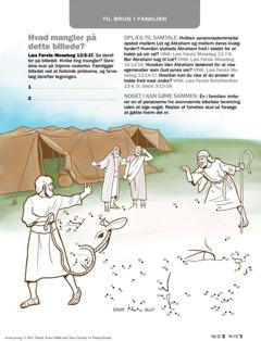 Abraham slutter fred med Lot