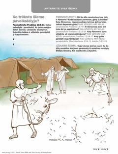 Abraomas susitaiko su Lotu