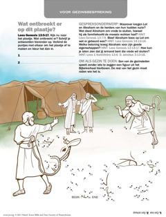 Abraham die vrede sluit met Lot