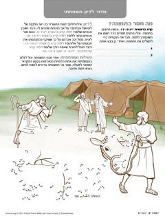 אברהם עושה שלום עם לוט