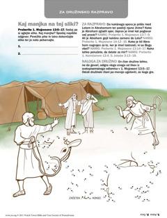 Abraham zgladi spor z Lotom