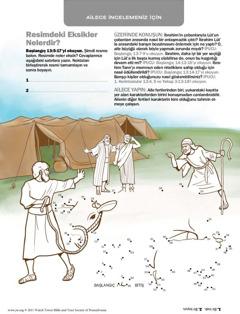 İbrahim Lût'la arasındaki barışı korur