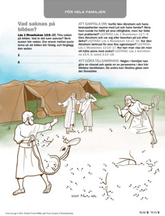 Abraham blir sams med Lot