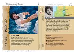 Bible card-Pedro