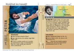 Bibliai kártya: Péter