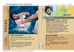 Bible card Pedro